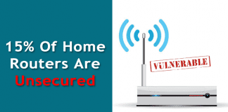 Study Report: At Least 15% Of Home Routers Are Unsecured