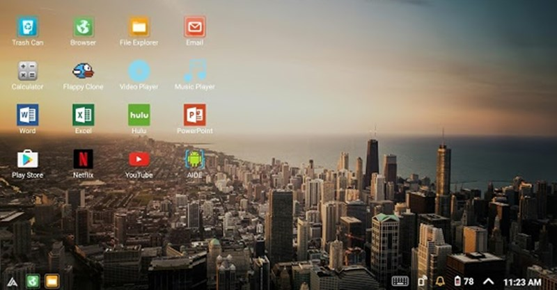 Turn Your Android Into full functional Computers like Windows and Linux