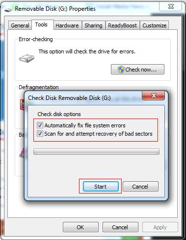 Checking The errors