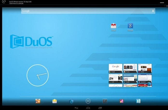 Use AMIDuOS to Run Android On Windows 10