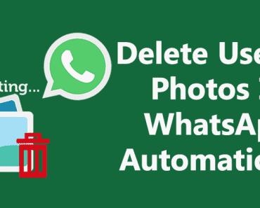 كيفية حذف الصور عديمة الفائدة في WhatsApp تلقائيًا
