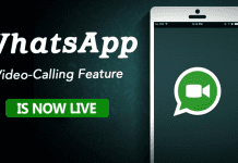 Finally! WhatsApp's Video Calling Feature is Now Live