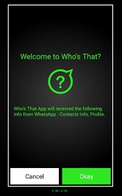 Check Who Visited your WhatsApp Profile