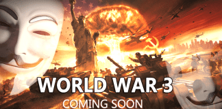 "Hacktivist Group Anonymous Warns The World: ""World War 3 is Coming Soon"""