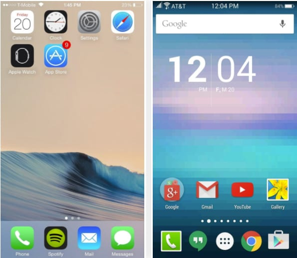 How To Get iOS Type Status Bar On Any Android Device
