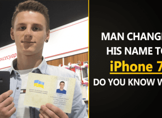 """Meet The Man Who Legally Changed His Name to """"iPhone 7"""""""