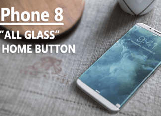 """Apple's iPhone 8 To Be """"All Glass"""", No Home Button"""