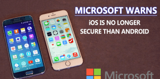 Microsoft Warns: iOS Is No Longer Secure Than Android