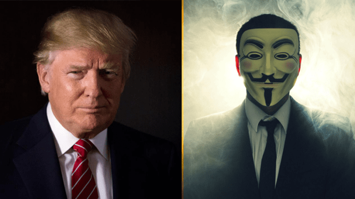 Hacktivist Group Anonymous Sends Message To Donald Trump