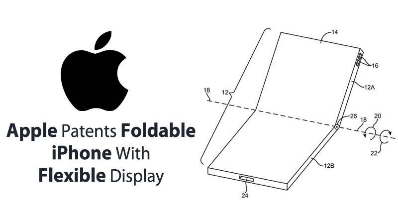 Apple Patents Foldable iPhone With Flexible Display