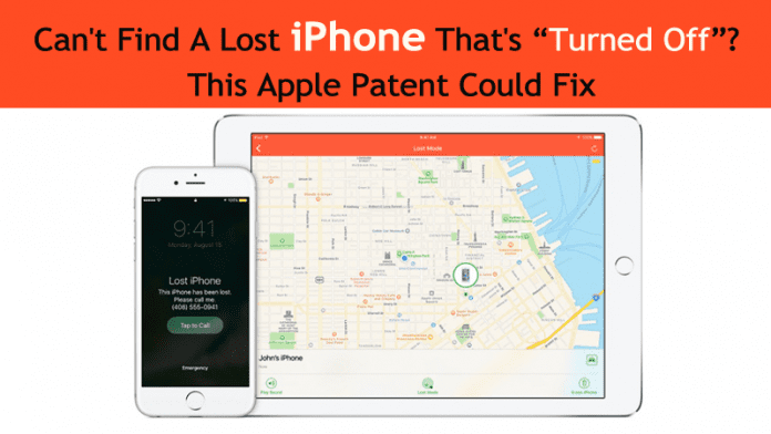 Apple Patents New Technology That Will Find Your Lost iPhone Even When Switched Off