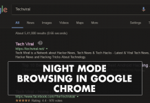 How To Use Night Mode Browsing In Google Chrome