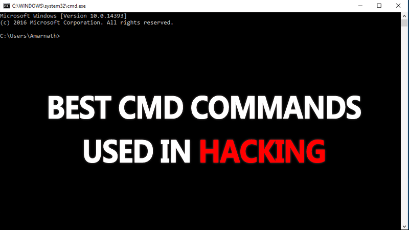5+ Best CMD Commands Used In Hacking