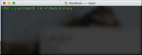 Clear the Terminal History on Linux or Mac OS