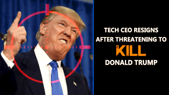 Tech CEO Resigns After Threatening To Kill Donald Trump On Facebook