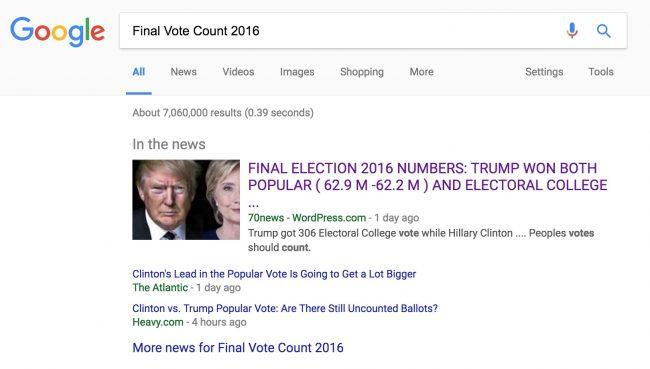 Fake News Of Trump