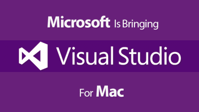 Finally, Microsoft Is Bringing Visual Studio For Mac
