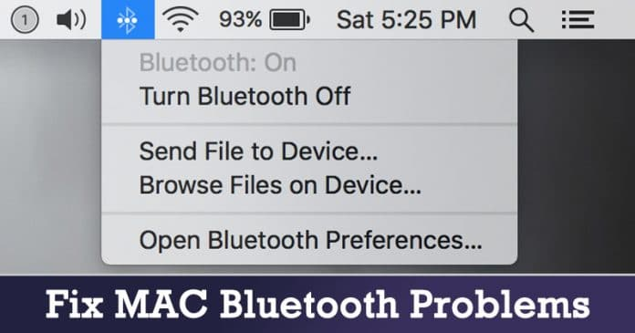 Top 4 Methods to Fix MAC Bluetooth Problems