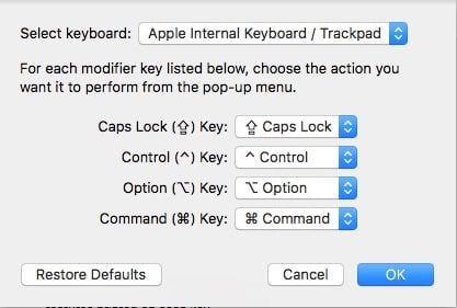 Get your Mac's ESC key Back by Remapping Caps Lock