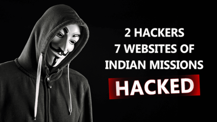 Hackers Hacked 7 Indian Embassies Websites, Data Dumped Online