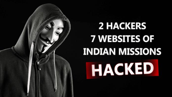 Hackers Hacked 7 Indian Embassies Websites, Data Dumped Online