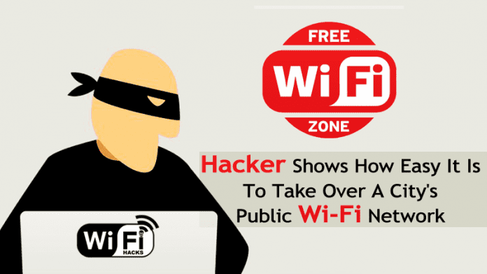 Hacker Shows How Easy It Is To Take Over A City's Public Wi-Fi Network