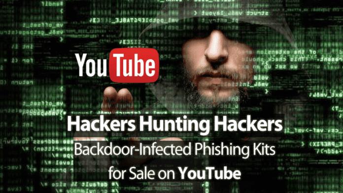 Hackers Selling Phishing Kits With Secret Backdoor Via YouTube