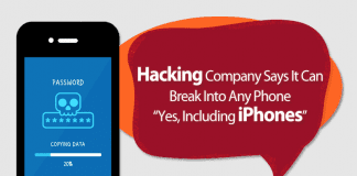 Hacking Company Says It Can Break Into Any Phone In SECONDS