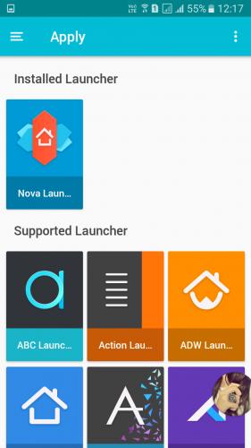 Using Pixel Icon Pack-Nougat Free UI