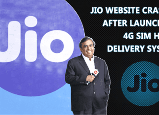 Reliance Jio Website Crashes After Launching 4G SIM Home Delivery System