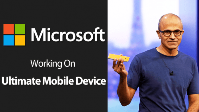 Microsoft CEO Satya Nadella Says Working On The