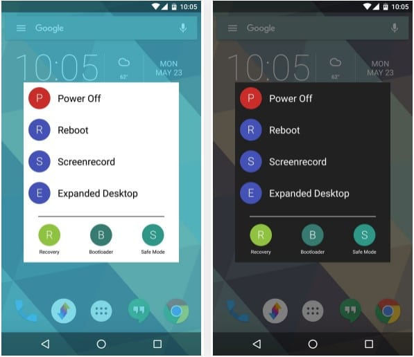 "NeoPower Menu5 - How To Customize Android's ""Power Off"" Menu With More Options"