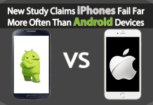 New Study Claims iPhones Fail Far More Often Than Android Devices
