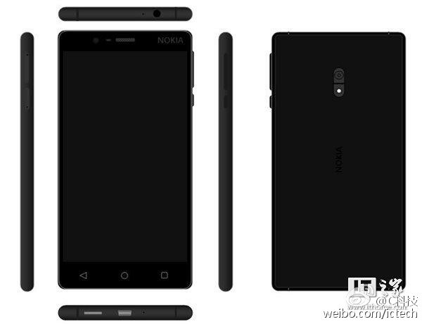 Nokia D1C Android Smartphone Image Renders Leaked Online