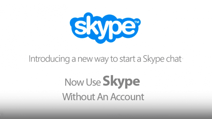 Now Anyone Can Use Skype Without An Account