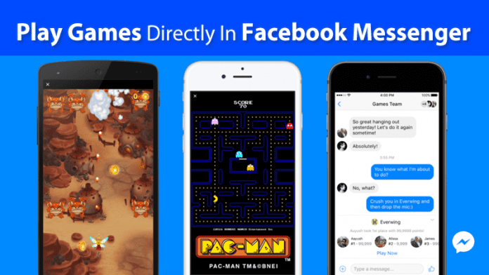 Now You Can Play Games Directly In Facebook Messenger