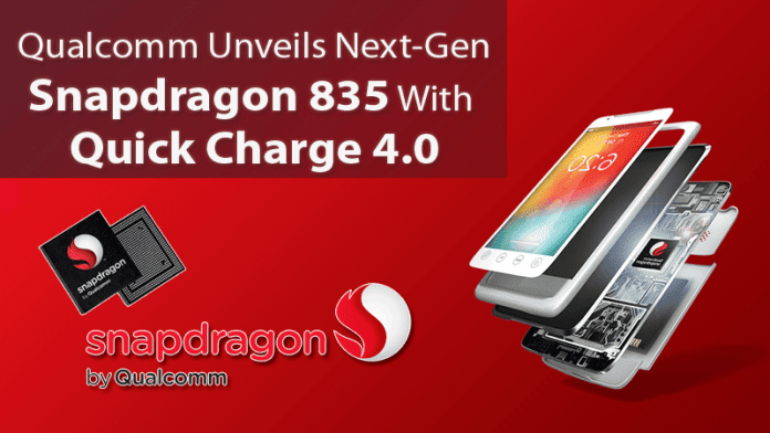 Qualcomm Unveils Next-Gen Snapdragon 835 With Quick Charge 4.0