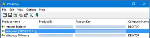 Recover Software Product keys From any Computer even a Broken One