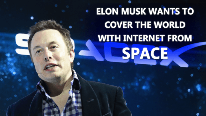 Elon Musk to Launch Super Fast Internet From Space