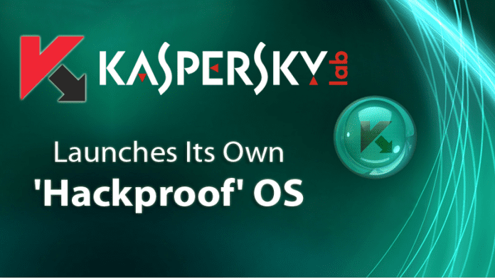 The Antivirus Firm Kaspersky Launches Its Own