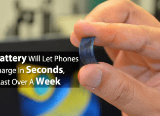 This Battery Will Let Phones Charge In Seconds, Last Over A Week
