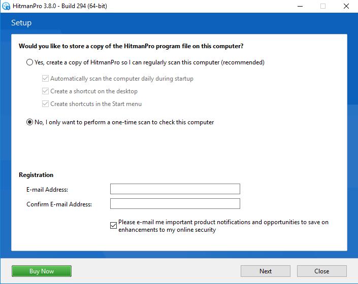 Use HitMan Pro