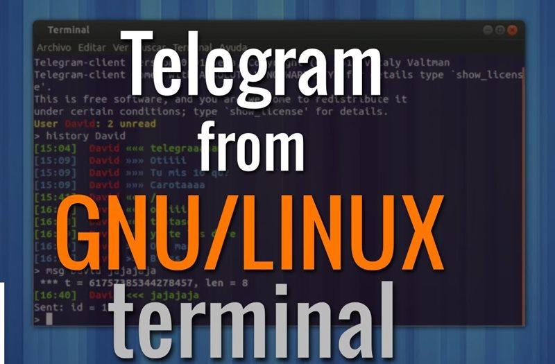 se Telegram From Linux Command Line