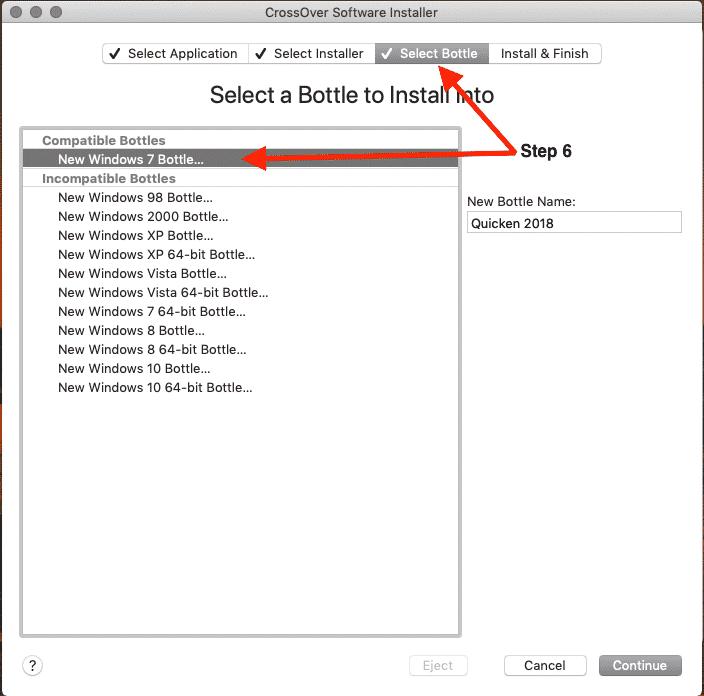 Using Codeweavers Crossover