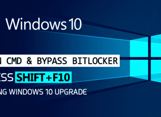 "Hack Windows 10 PC By Holding ""SHIFT+F10"" During Upgrade"