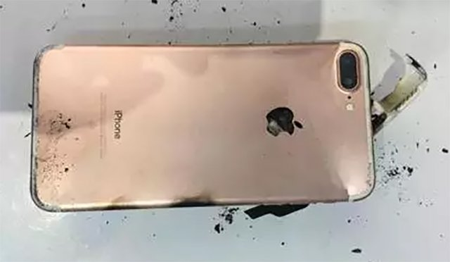 iPhone 7 Plus Falls From 1.5 Feet, And Then Blows Up!