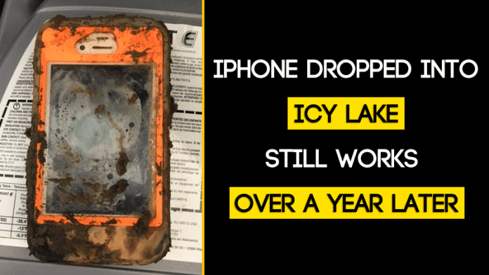 iPhone Dropped Into Frozen Lake Still Works Over a Year Later