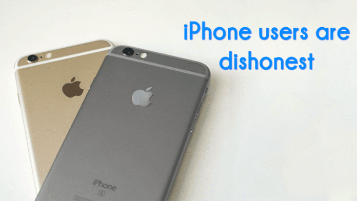 iPhone Users Are More Dishonest Than Android, Says Study