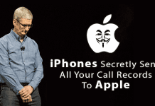 iPhones Secretly Send All Your Call Records To Apple