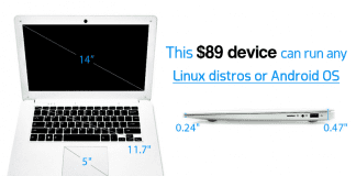 Meet Pinebook, A $89 Linux Laptop That Looks Like MacBook
